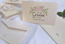 Rustic wedding card by Paperica