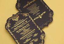 Shiva & Dede's Wedding Invitation by Hiraloka