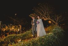 Steven & Aie Enchanted Garden Wedding by Flying Bride
