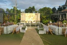 Rustic and A Hundred Drop Lights. by Eye Candy Manila Event Styling Co.