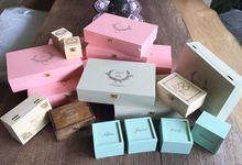 Bridesmaid box  by Lanina box