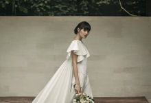 Mellifluous Marmoreal Spring Summer 2016 Bridal Collection by Bramanta Wijaya Sposa