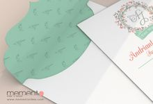 Soft Coral - Mint Green by Memento Idea