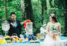 The Fantasy Marco Tanjudin & Stevanie Pre Wedding by Felix rusli Photoarts