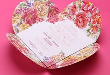 Desty & Roby's Wedding Invitation by Hiraloka