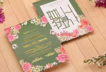 Etsa & Farikh's Wedding Invitation by Hiraloka