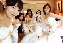 Korean Wedding II by Marsia Yulia Signature. Natural and Korean Make Up Specialist.