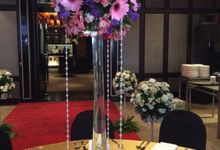 Table Setting Decoration by Flowers & Foliage