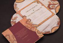 Fiza & Arya's Wedding Invitation by Hiraloka