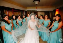 Tiffany Blue and Lace in Manila Hotel by HeyHeleyna
