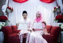Nasrie & Rafidah by ezfotolabs