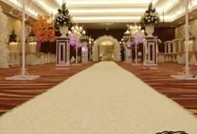 Mepro Hall and Convention Centre by Gayuri Decoration