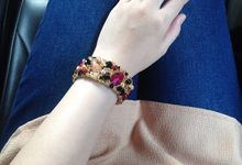 Bracelets by Sequeen Couture