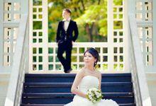 MLN & GH Prewedding by Zinny Theint Make-up Artistry