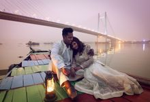 Pre Wedding Shoot in Victorian Kolkata by Visual Indigo Photography