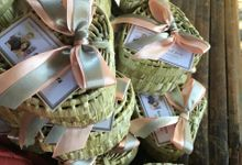 Native heartbox wedding favors by Miss Marian Native Crafts