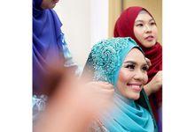 Hafiz + Nuraini by Azee Photographyical