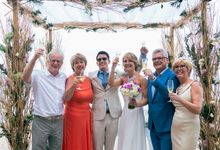 Marsha & Tom Wedding by Byrdhouse Beach Club