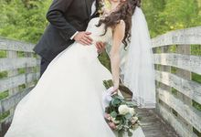 Spring wedding  by L&A Event Designs