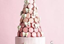 Macaroons Towers by The Delights Heaven