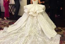 customade wedding and evening dress by Melta Tan