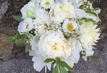 White pallete by Fairy floral