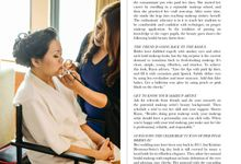 SPOTLIGHT MAKEUP ARTIST  IN WEDDING MAGAZINE by RMSA Professional Makeup Artistry