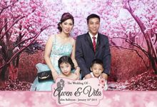 Awen & Vita by UniquePhotoCard | Photo Booth / Photo Corner Surabaya