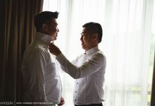Teddy & Melvin by Red Apple Photography
