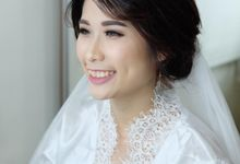 Bride Mrs Angie by Verena Makeup Artist
