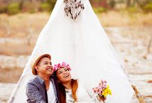 Vhoyeth & Cessy Prenup by ESP Weddings
