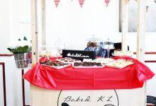 Dessert table by Baked KL