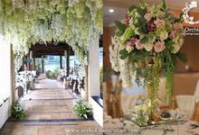 Love is journey not a destinantion by Orchid Florist and Decoration