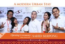 Event Opening Sahid Serpong by Foto moto photobooth