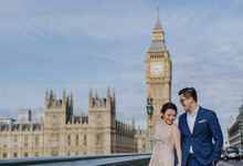 Ricky & Evelyn London Love Story by Imperial Photography Jakarta