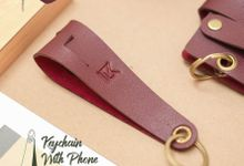 Keychain with Phone Stand by McBlush Merchandise Service by Mcblush Merchandising Service