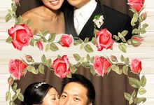 wedding photobooth by Osnap