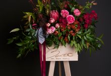 Flora stand Styling - celebration by Beato