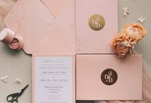 Delly & Dida  by Peony and Brides Invitation