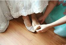 wedding shoes by Jolie Moda