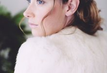 White bridal shoot by Green Scarf Girl