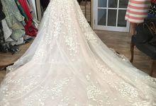 Kristin and Guntur Wedding by Gazelle Brides