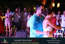 Mr & Mrs Gray's Wedding by Sound Solution Asia