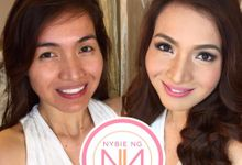 Beautiful airbrushed makeovers by Nybie Ng Make Up Artistry
