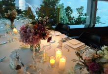 Rushi & Christal by Forlino Dining on the Bay
