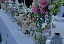 Wedding at Ayana by Bali Tropical Florist