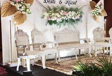 Wedding Desti & Rizal by Kyukyu organzier