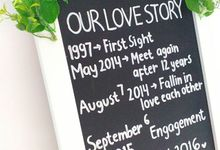 Love Story Board by BIRAZA SCRAPBOOK
