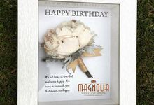 Birthday DRIED Flowers by Magnolia Dried Flower
