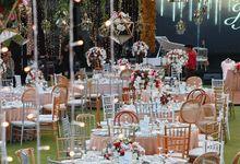 magical garden for William & Novi by Sweetbella Florist & Decoration